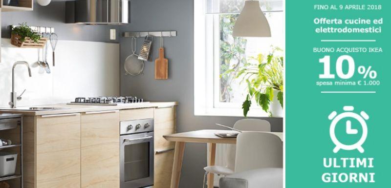 Buono Acquisto IKEA 10% Cucine ed elettrodomestici ...